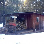 Burning Down The Woodshed