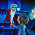 """Nightmare Before Christmas"" Jack Skellington masquerading as Santa. If you haven't seen this film due to your time in the church please give it a view. Charming fun that looks at the nature of holidays."