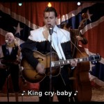The only type of acceptable King Cry Baby, unlike those Priestly-Kingly or other dudes/duds Debi pushes as Mr. Right