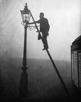 By E Lamplighter Lighting Gas Street Light