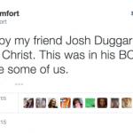Screen cap of Ray Comfort's Tweet