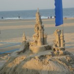 Happy 4th of July! Hope some of you are getting beach time and sand castles this weekend. Image by Suzanne Titkemeyer