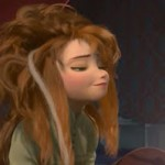 Sometimes, waking up is a process. Screen cap from the Disney film 'Frozen'