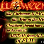 Halloween is a Satanic Holiday