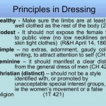 Why Do Fundamentalist Men and Women Dress Differently?