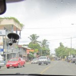 Driving through Central America. Image by Suzanne Titkemeyer