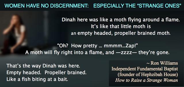 Williams no discernment