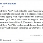 The Suspects – Is Justice Delayed Justice At All For Carol Ann Cole?