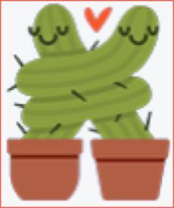 Hugging Cacti.