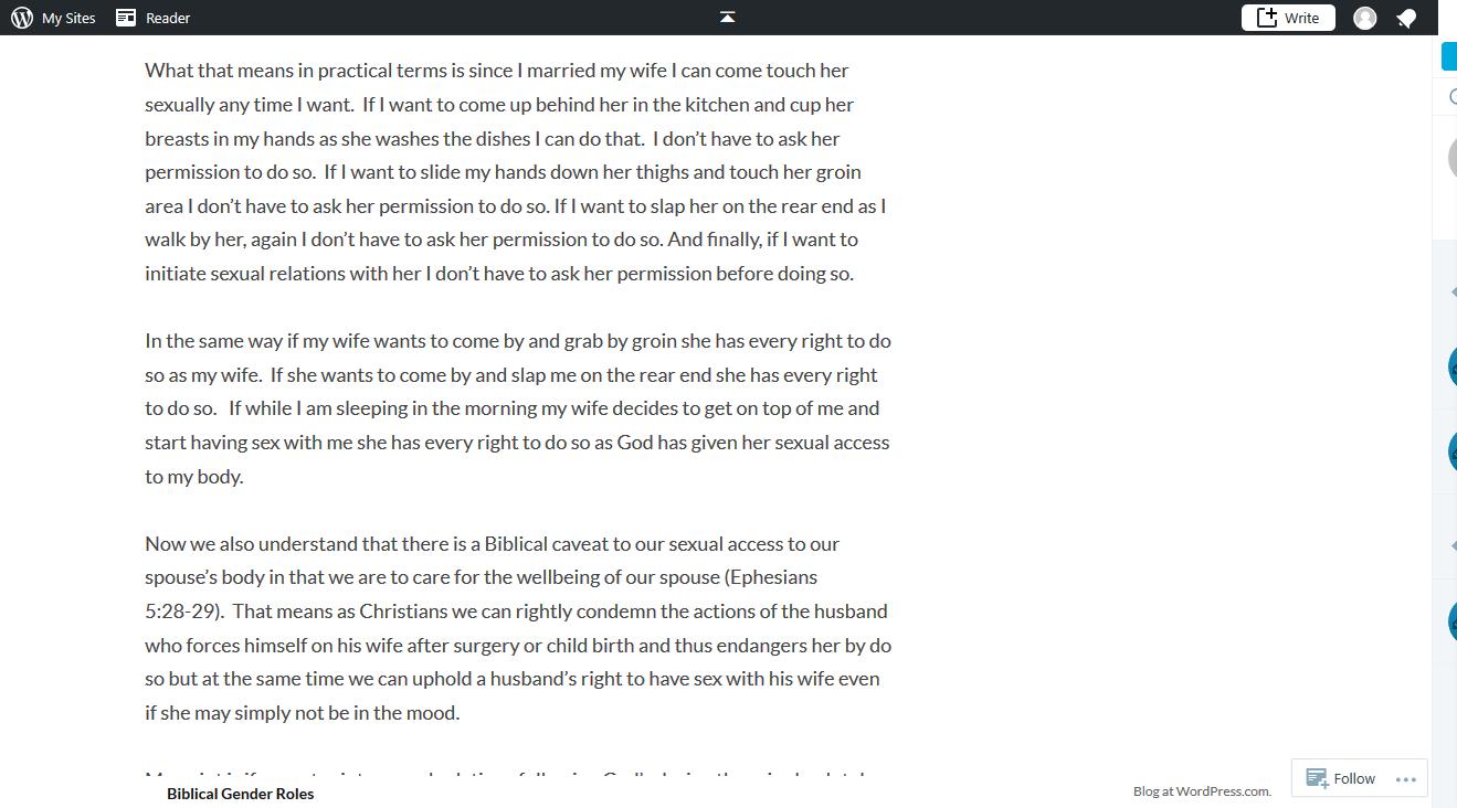 biblical gender roles blog