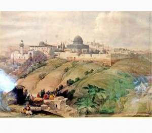 Were Jews absent from the land before the late 19th century?
