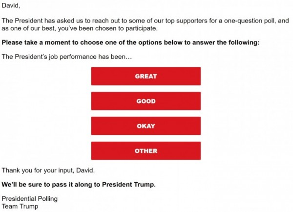 Source: email from the RNC