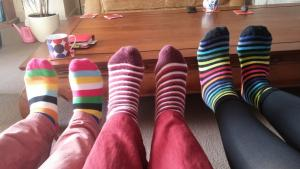 Stripy socks 010316