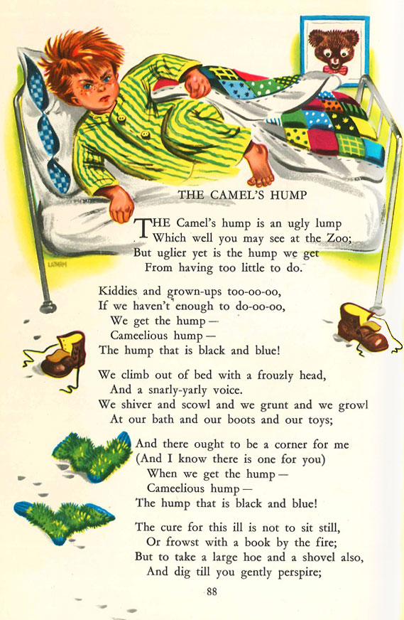the camel s hump rudyard kipling on idleness and hard work camel