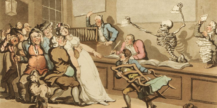 'The English Dance of Death' Thomas Rowlandson, 1814-1816, d33