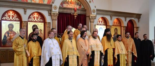HOUSTON:  Sunday of Orthodoxy Vespers, 2014