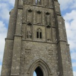 The Church of St Michael was destroyed in the Dissolution of Monasteries in 1539; the abbot of Glastonbury Abbey, Richard Whiting, was hung from this tower, drawn and quartered.