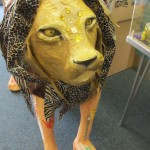 Aslan is also found in the children's book section in Belmont Tower.
