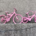 Pink is all the rage in Belfast -- still, that is.  You see ...
