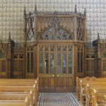"""Forgive me, but ... """"confession booths"""" always make me wanna go to confession.  [My mom always hated when I returned from trips with tons of pics and me not in a one of 'em.  So, look closely, there I am in the confessional.]"""