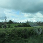 A shot back at Armagh on the return to Belfast.