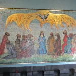 In the adjoining Holy Spirit Chapel ... Not to sure about that image.  Scary.