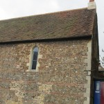 The Church of St Helen in Colchester (Antiochian), built on ancient Roman foundations.