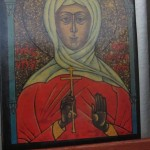 Saint Osyth was an early Saxon Queen of Essex.  She became a nun and founded the holy monastery for nuns at Chich, now called after her St Osyth.  She was martyred by Danish pirates about the year AD 700.