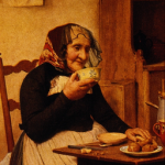 Grandmother, Albert Anker [Public domain], via Wikimedia Commons
