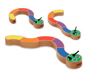 Melissa and Doug Caterpillar Grasping Toy (I know, it's not really a snake)