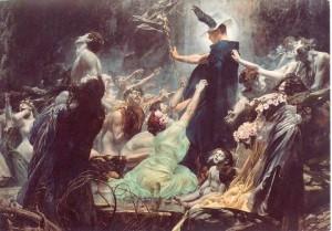 Hermes-Souls on the Banks of the Acheron-Hiremy-Hirschl-1898