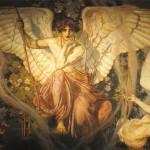 Julius Kronberg, Eros e la dea del Destino - 1908