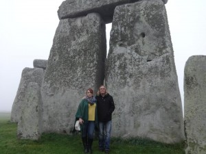Ari & I at Stonehenge