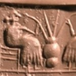 Ancient Sumerians drinking beer out of straws.  I think we should bring this back.