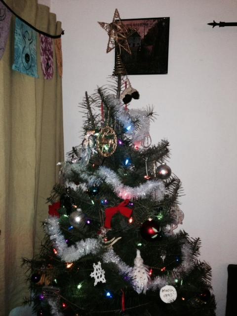 Black Christmas Tree Images