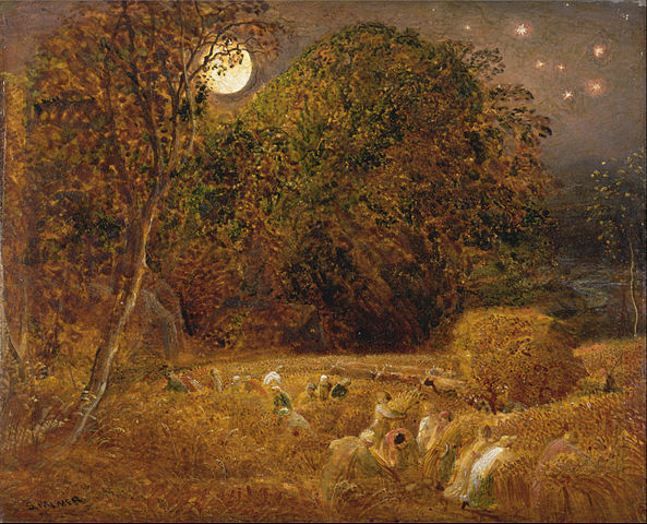 593px-Samuel_Palmer_-_The_Harvest_Moon_-_Google_Art_Project
