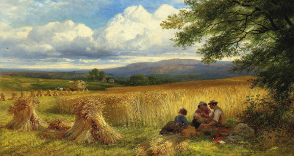 """Harvest Rest"" by George Cole, from WikiMedia."
