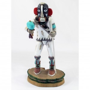 Kookopölö kachina, from the Museum of Northern Arizona gift shop.  You can buy this.