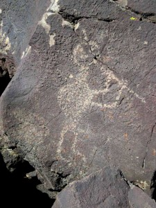 Petroglyph Kokopelli, from WikiMedia.