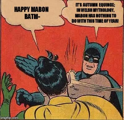 Get over it Batman.