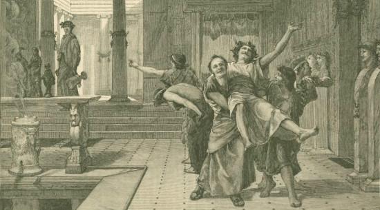"""Roman Saturnalia"" by John Reinhard_Weguelin  (From WikiMedia)"