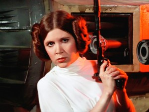 """Princess Leia in """"Episode IV: A New Hope.""""  From LucasFilm"""