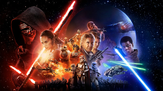 """Promo shot for """"The Force Awakens,"""" from Disney/Lucasfilm"""