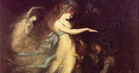 """Prince Arthur and the Faerie Queen"" by Henry Fuseli.  From WikiMedia"