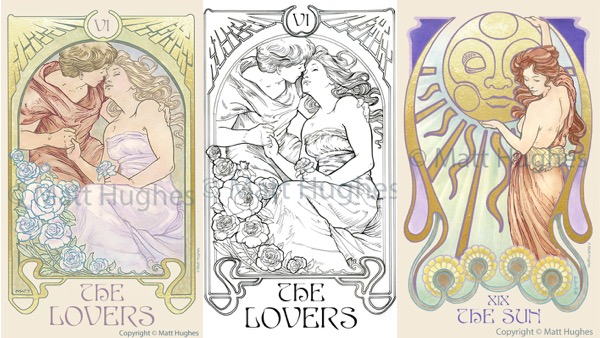 Creating a Tarot Deck:  An Interview with Artist Matt Hughes