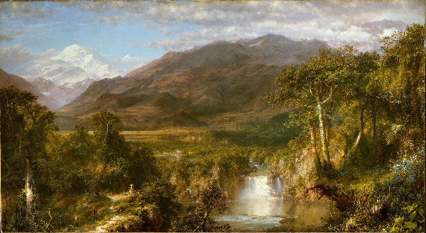 """Heart of the Andes"" by Frederic Edwin Church, from WikiMedia."
