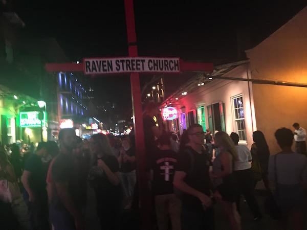 Bourbon Street last October.