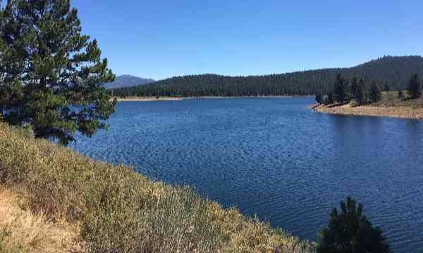 A lake near Lake Tahoe.