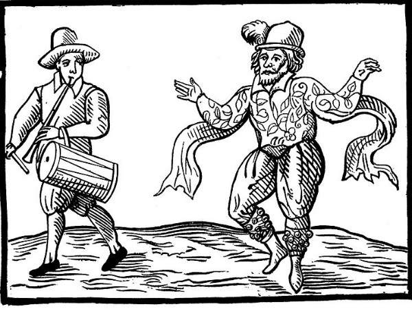 Dancer from 1600.