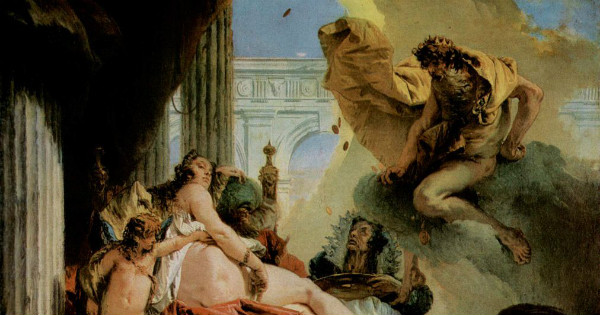 """Jupiter and Danaë"" by Giovanni Battista Tiepolo, form WikiMedia."
